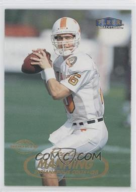 1998 Fleer Tradition #235 - Peyton Manning