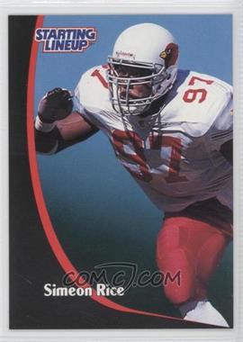 1998 Kenner Starting Lineup - [Base] #SIRI - Simeon Rice