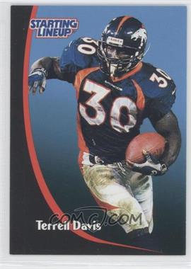 1998 Kenner Starting Lineup - Update #N/A - Terrell Davis