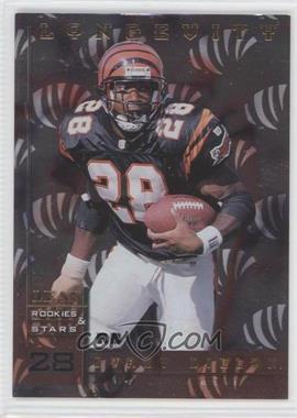 1998 Leaf Rookies & Stars Longevity #143 - Corey Dillon /50