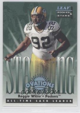 1998 Leaf Rookies & Stars Standing Ovations #8 - Reggie White /5000