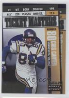Randy Moss, Cris Carter /2500