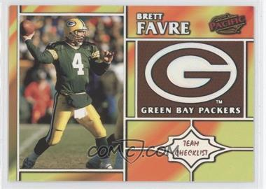 1998 Pacific [???] #11 - Brett Favre