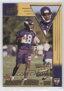 1998 Pacific Aurora - [Base] - Super Bowl XXXIII #94 - Randy Moss /20