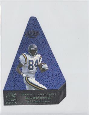 1998 Pacific Crown Royale Cramer's Choice Award Jumbos Dark Blue #358 - Randy Moss /35