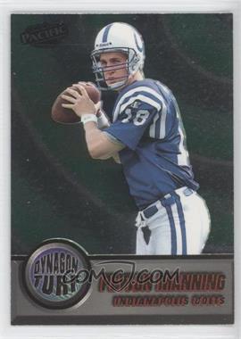 1998 Pacific Dynagon Turf #8 - Peyton Manning