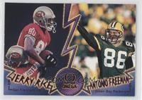 Jerry Rice, Antonio Freeman