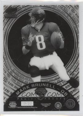1998 Pacific Paramount Kings of the NFL Proofs #11 - Mark Brunell /20