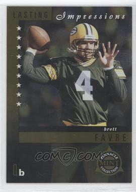 1998 Pinnacle Mint Collection - Lasting Impressions #1 - Brett Favre