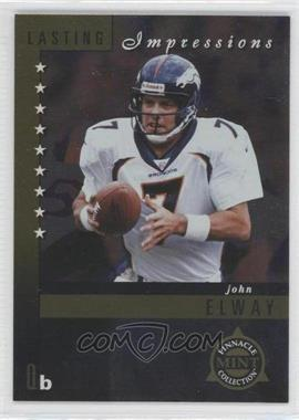 1998 Pinnacle Mint Collection Lasting Impressions #2 - John Elway