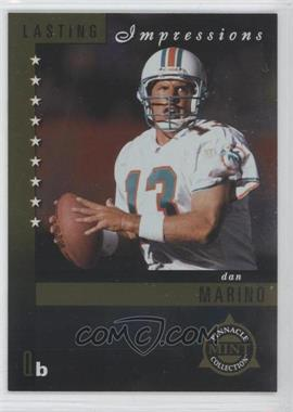 1998 Pinnacle Mint Collection Lasting Impressions #4 - Dan Marino