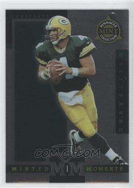 1998 Pinnacle Mint Collection Minted Moments #4 - Brett Favre