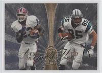 Antowain Smith, Wesley Walls, Isaac Bruce, Terry Glenn