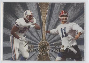 1998 Playoff Absolute Retail Platinum Quads #9 - Eddie George, Irving Fryar, Andre Rison, Rob Johnson