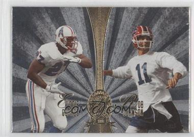 1998 Playoff Absolute Retail Platinum Quads #9 - Eddie George, Irving Fryar, Andre Rison