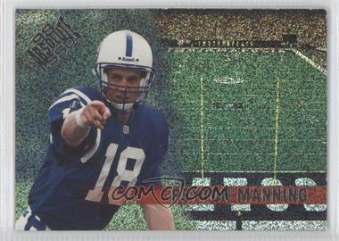 1998 Playoff Absolute SSD Team Checklists #12 - Peyton Manning