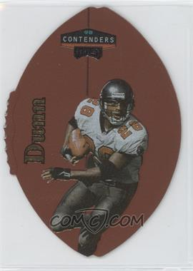 1998 Playoff Contenders Leather Footballs Gold #92 - Warrick Dunn /39