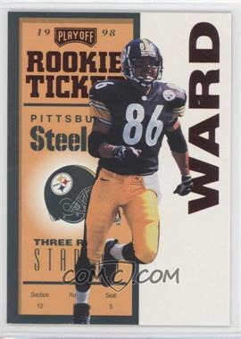 1998 Playoff Contenders Ticket Red #94 - Hines Ward
