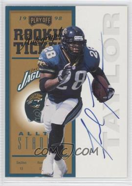 1998 Playoff Contenders Ticket #89 - Fred Taylor