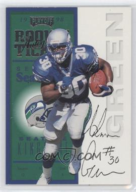 1998 Playoff Contenders Ticket #97 - Ahman Green
