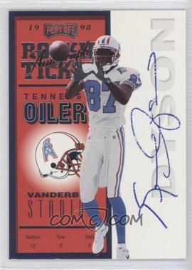 1998 Playoff Contenders #99 - Kevin Dyson