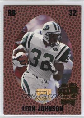1998 Playoff Momentum Retail Super Bowl XXXIII #124 - Leon Johnson
