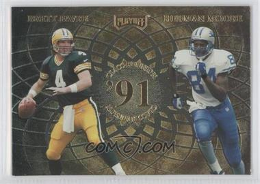 1998 Playoff Momentum/Contenders [???] #9 - Brett Favre, Herman Moore, Ricky Watters, Yancey Thigpen