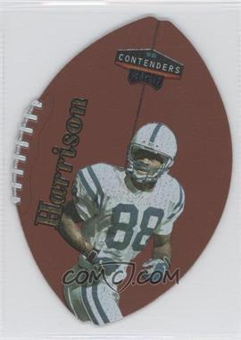 1998 Playoff Momentum/Contenders Leather Footballs Gold #36 - Marvin Harrison /73