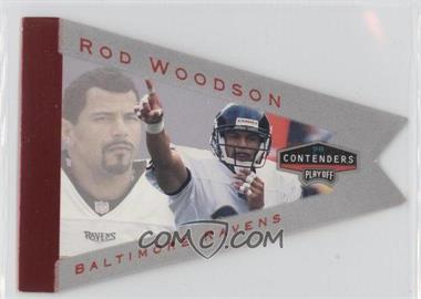 1998 Playoff Momentum/Contenders Pennants Grey #8 - Rod Woodson