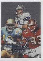 Skip Hicks, Troy Aikman, J.J. Stokes