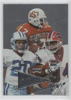 R.W. McQuarters, Barry Sanders, Thurman Thomas