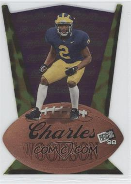 1998 Press Pass Triple Threat #TT8 - Charles Woodson