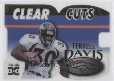 1998 Pro Line DC III [???] #CLC3 - Terrell Davis /500