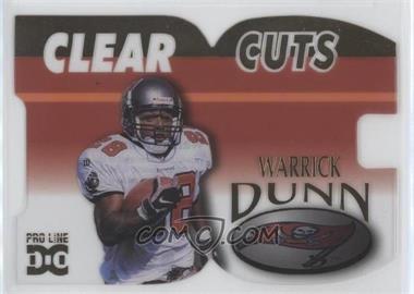 1998 Pro Line DC III [???] #CLC8 - Warrick Dunn /500
