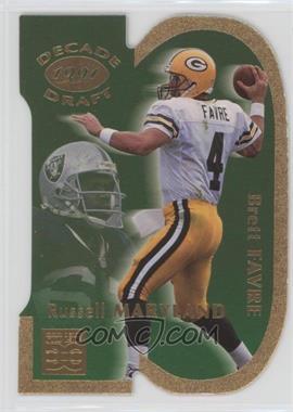 1998 Pro Line DC III Decade Draft #DD3 - Brett Favre, Russell Maryland