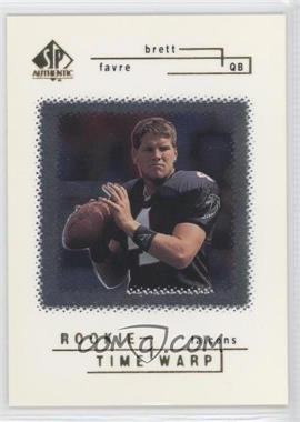 1998 SP Authentic #42 - Brett Favre /2000