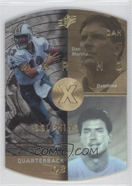 1998 SPx - [Base] - Gold #25 - Dan Marino
