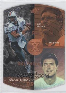 1998 SPx Bronze #25 - Dan Marino