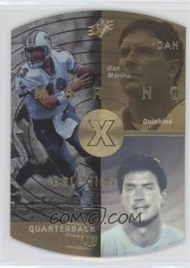 1998 SPx Gold #25 - Dan Marino