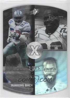 1998 SPx Steel #12 - Emmitt Smith