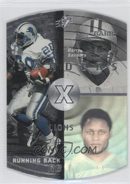 1998 SPx Steel #17 - Barry Sanders