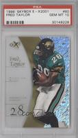 Fred Taylor [PSA 10]