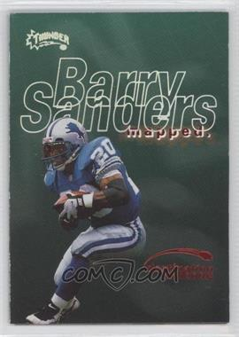 1998 Skybox Thunder Destination Endzone #12 DE - Barry Sanders