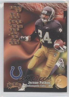 1998 Skybox Thunder Super Rave #244 - Jerome Pathon /25