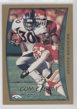 1998 Topps - Pre-Production #PP4 - Terrell Davis