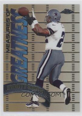 1998 Topps Chrome - Measures of Greatness #MG12 - Emmitt Smith