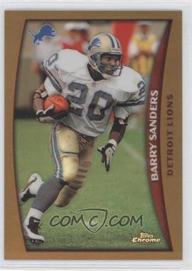 1998 Topps Chrome Refractor #1 - Barry Sanders