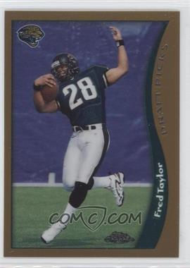 1998 Topps Chrome #152 - Fred Taylor