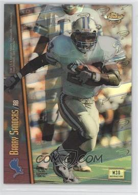 1998 Topps Finest Mystery Finest 1 Refractor #M30 - Barry Sanders