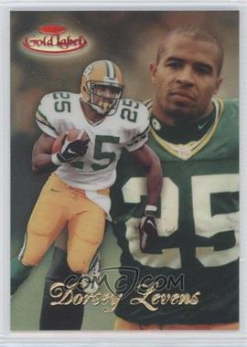 1998 Topps Gold Label - [Base] - Class 3 Red Label #15 - Dorsey Levens /25